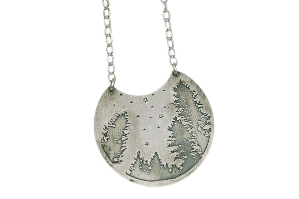 Stars and Trees Necklace