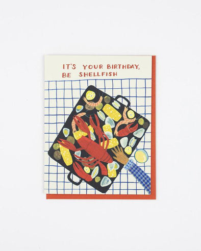 Clambake Birthday Card