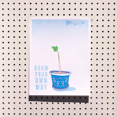 Grow Your Own Way Topiary Goal Tracker Print Kit