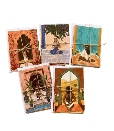 Tarn Ellis Yogis Card Set