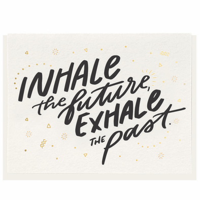 Inhale/Exhale Card