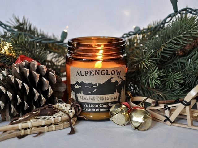 Alaskan Christmas Candle