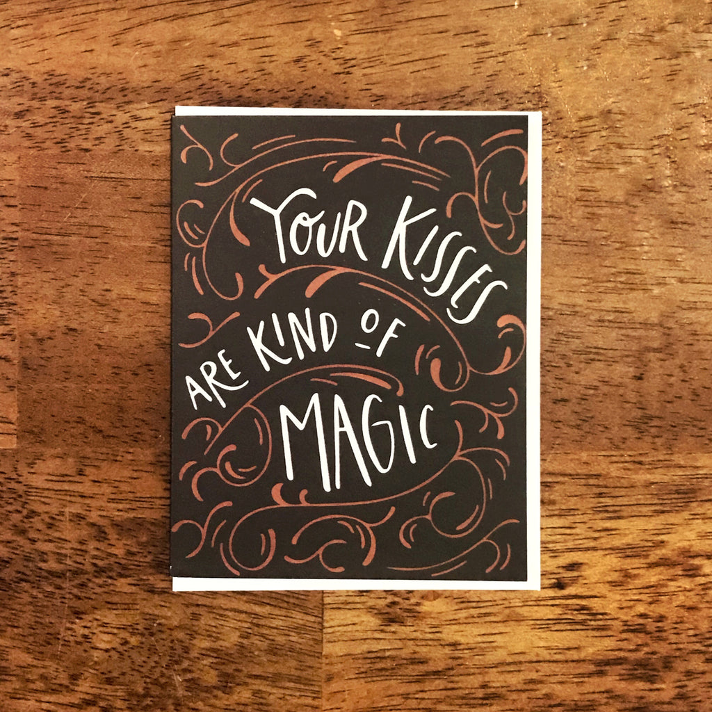 Magic Kisses Card