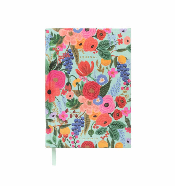 Garden Party Fabric Journal