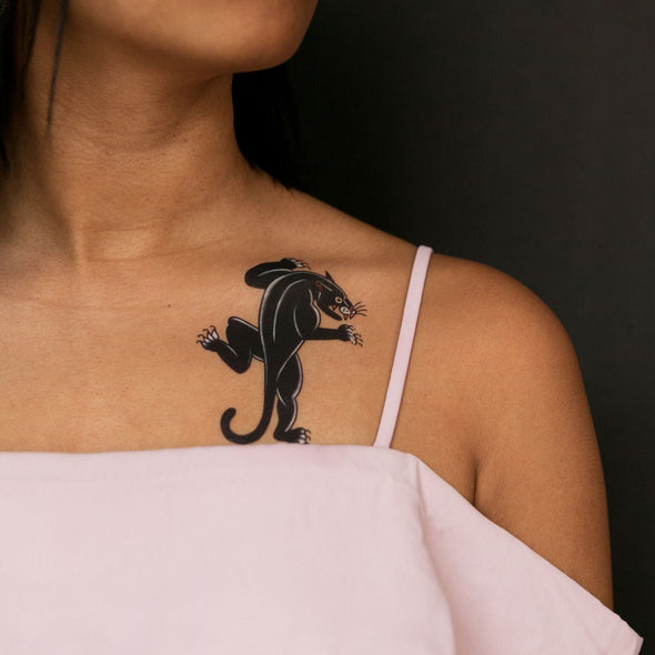 Panther Temporary Tattoos