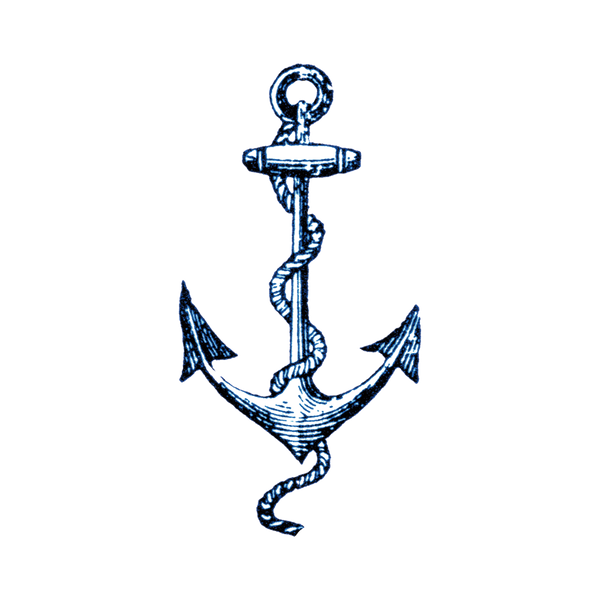 Cartolina Anchor Temporary Tattoos