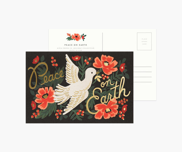 Pack of 10 Peace on Earth Postcards