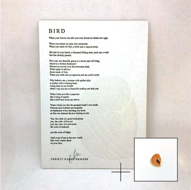 Bird (Pin + Poem Pack)