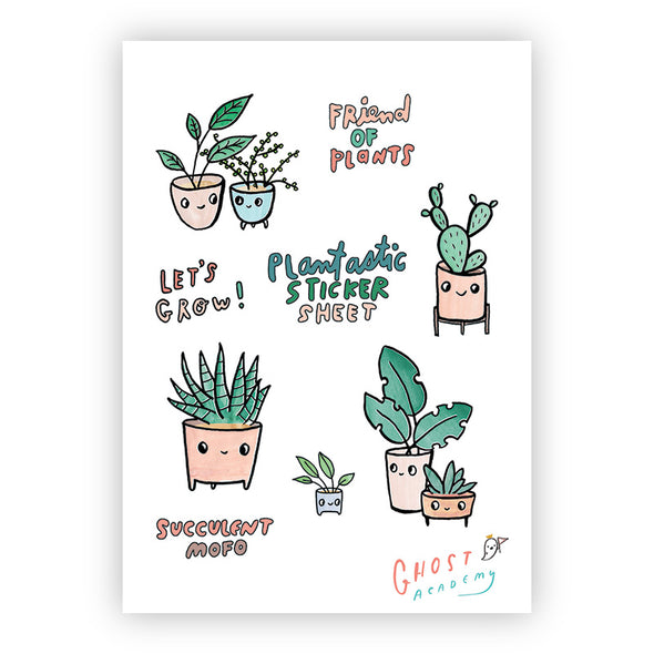 Plantastic Sticker Sheet