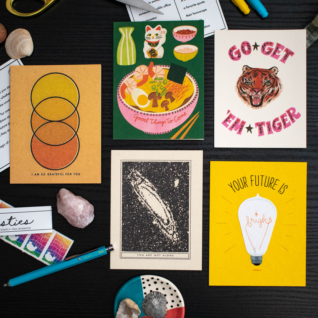 Pen Pal Kit: Positive Vibes