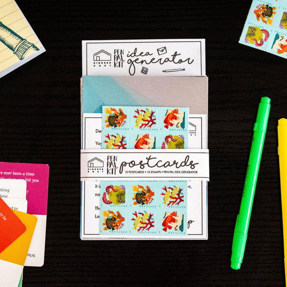 Pen Pal Kit: Postcards