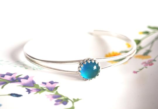 Small Round Crown Mood Cuff