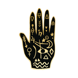 Mystic Hand Temporary Tattoos