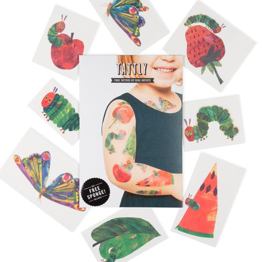 Hungry Caterpillar Temporary Tattoo Set