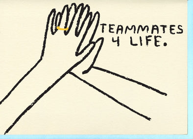 Teammates Card