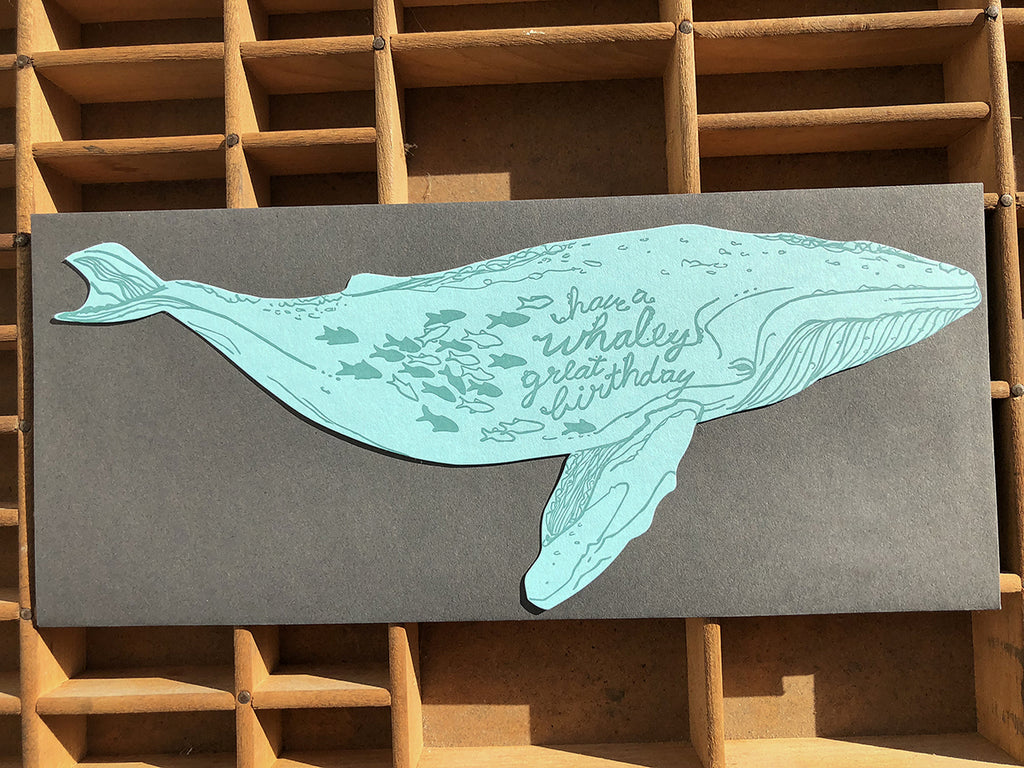 Whaley Good Birthday Die-Cut Card