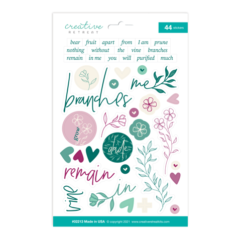 The Vine Decor Stickers