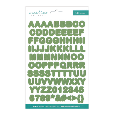 My Shepherd Alphabet Stickers