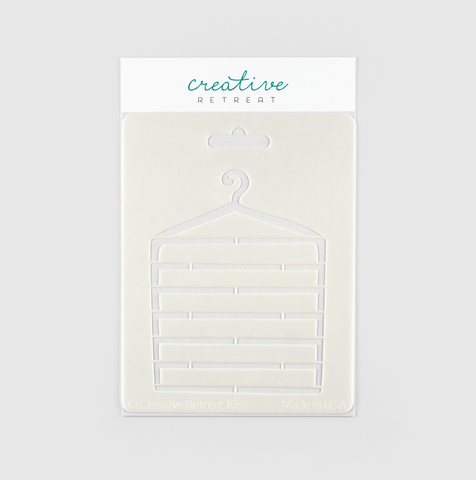 Clothing Hanger Stencil