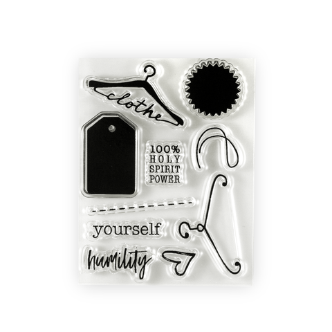 Clothed in Humility Stamp Set