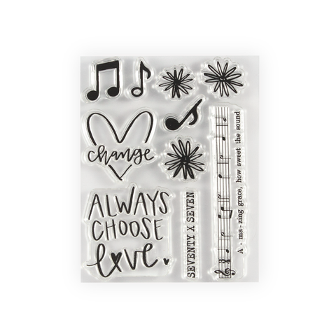 Amazing Grace Stamp Set
