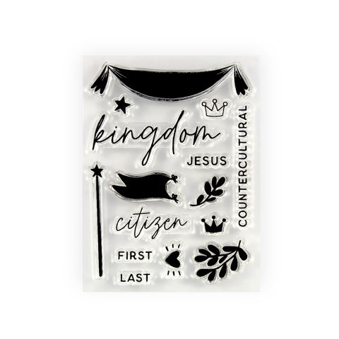 Upside Down Kingdom Stamp Set