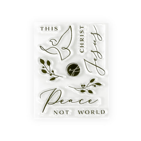 Peace and Presence Stamp Set
