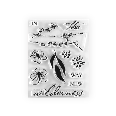 Way in the Wilderness Stamp Set