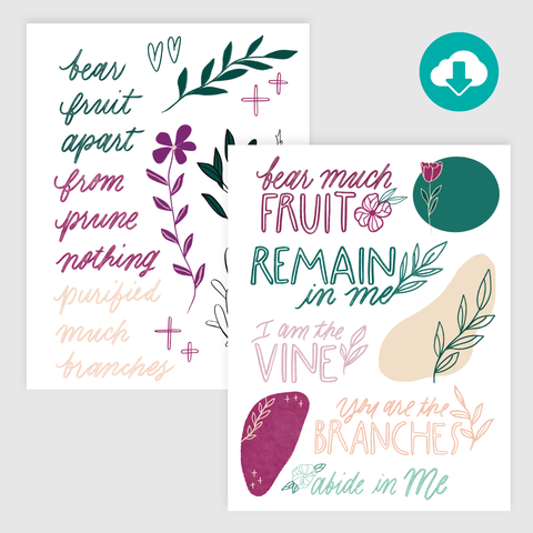 The Vine: Hand-Lettered Starters