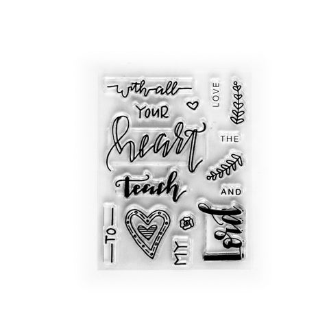 All Your Heart Stamp Set