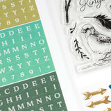 Seek First Alphabet Stickers