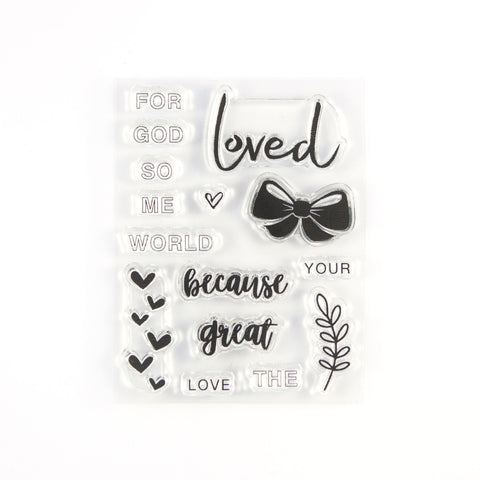 So Loved Stamp Set