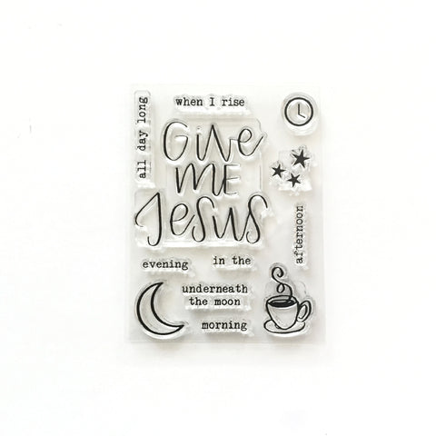Give Me Jesus Stamp Set