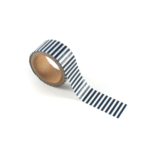 Navy Stripe Washi Tape