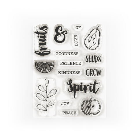 Spiritual Fruit Stamp Set