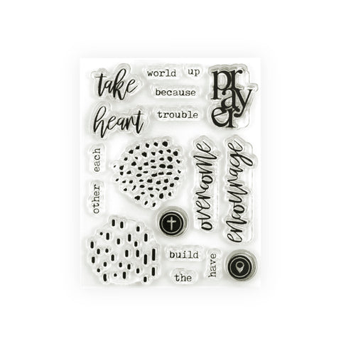 Take Heart Stamp Set