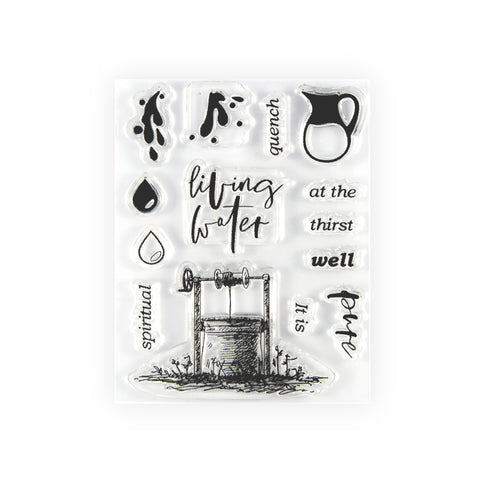 Living Water Stamp Set