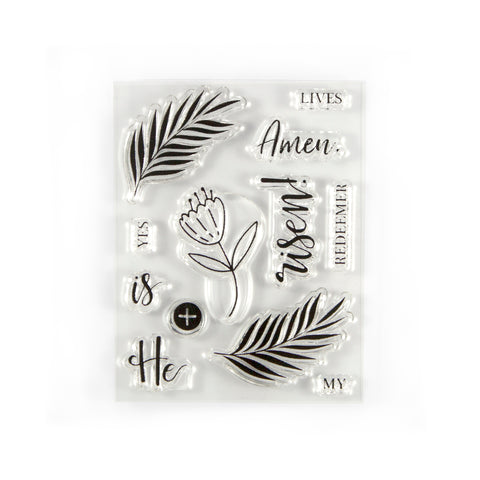 He is Risen Stamp Set