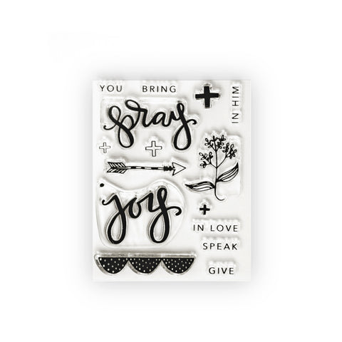 Pray Joy Stamp Set