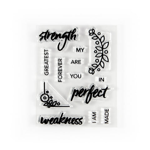 Perfect Strength Stamp Set