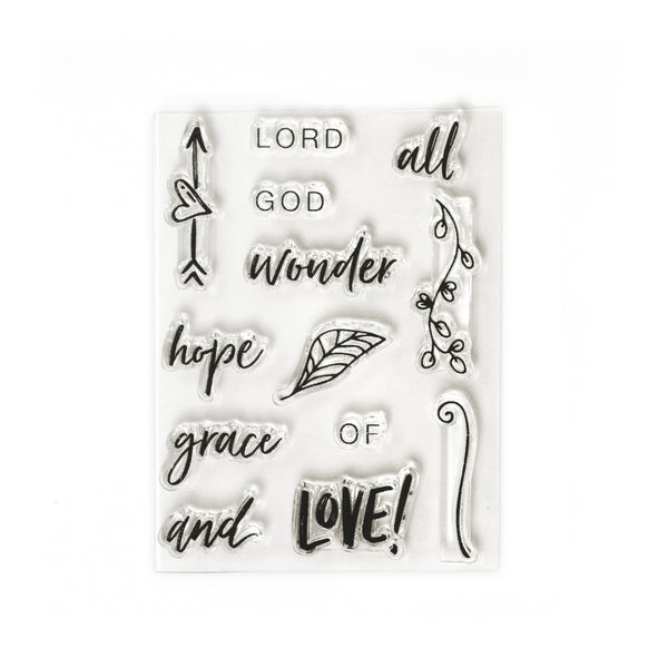 Creative Retreat God of Wonder Stamp Set