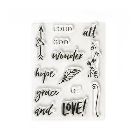 God of Wonder Stamp Set