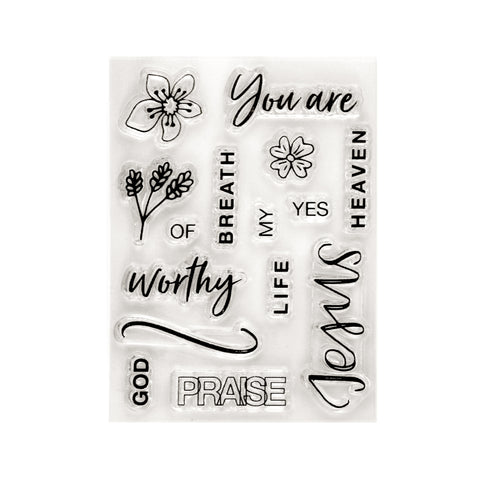 You Are Worthy Stamp Set