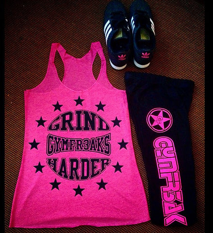 GRIND HARDER WOMENS TANK TOP