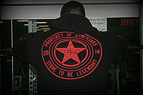 STRIVE TO BE LEGENDARY HOODIE