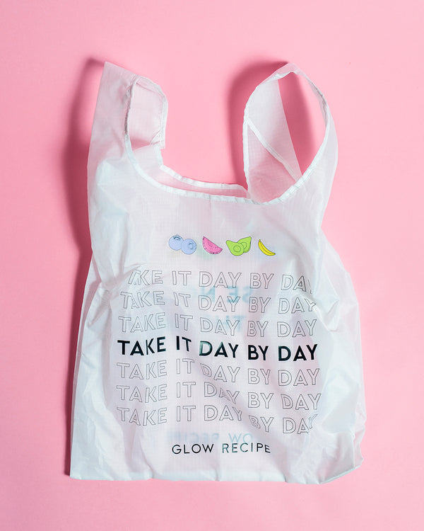 Take it Day by Day Reusable Grocery Tote