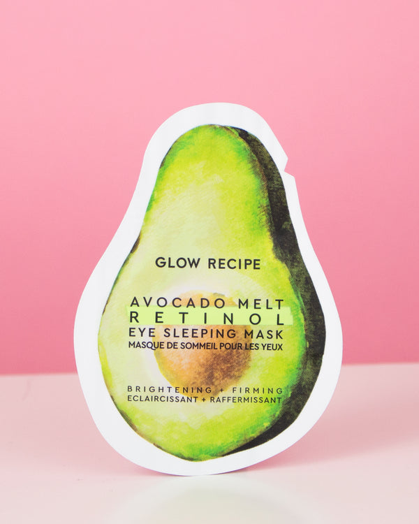 Avocado Melt Retinol Eye Sleeping Mask Sachet