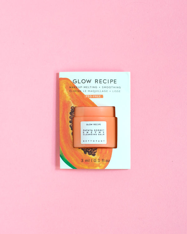 Papaya Sorbet Enzyme Cleansing Balm Sachet