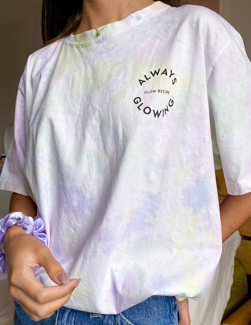 Always Glowing Tie Dye T-Shirt