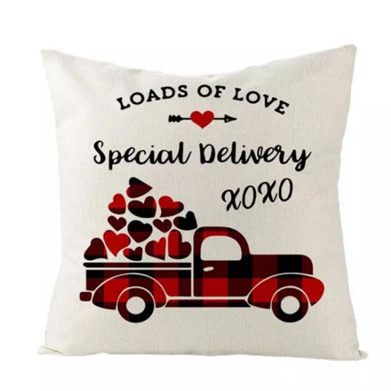 Valentine Pillow Covers | Set of 4 | 18x18 | Pillow Inserts not Included